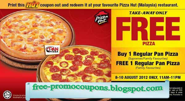 online coupons pizza hut