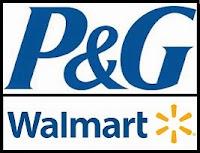 P&G Walmart logo