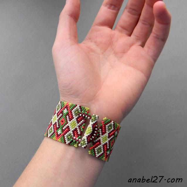 купить эксклюзивные браслеты украшения ручной работы из бисера