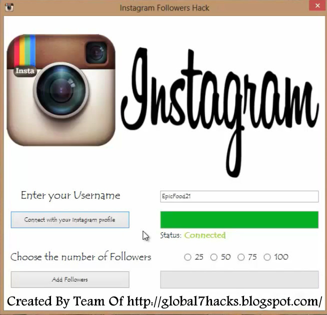 Download Instagram Followers Hack Tool No Survey | Free Instagram