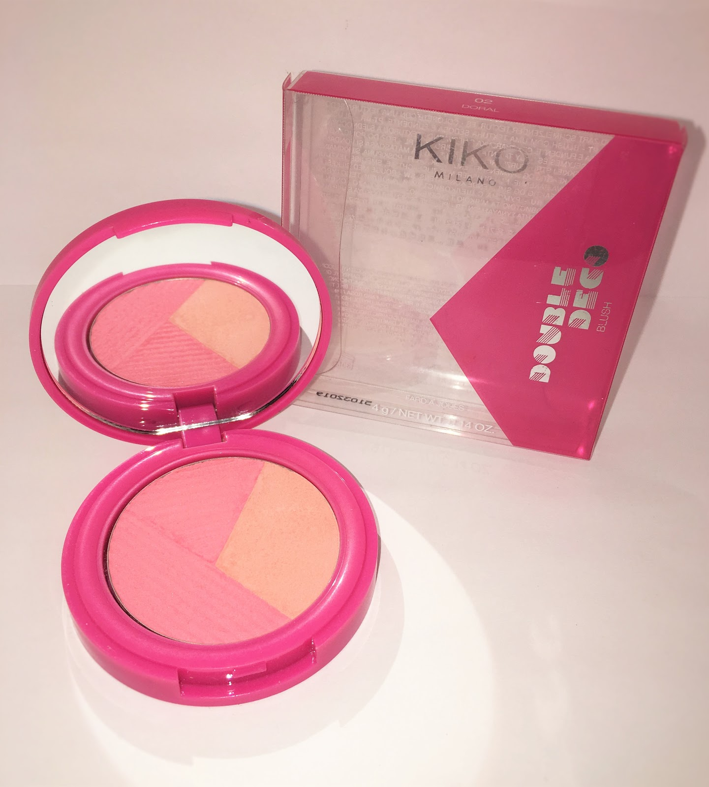 GlowByFlo: Kiko Milano - Miami Beach Double Deco Blush