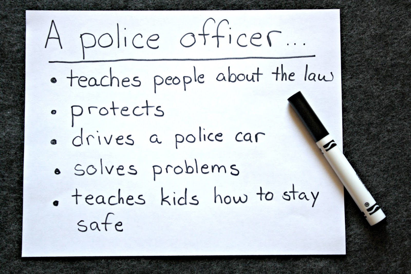 The Educators Spin On It Teach About Community Helpers