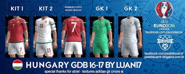PES 2013 Hungary Kit Euro 2016