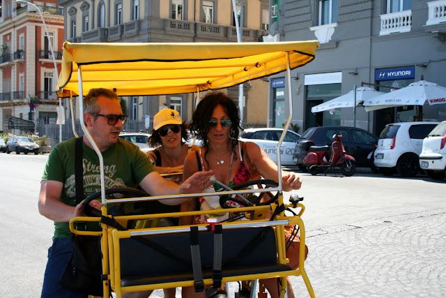 visitatori, strada, bici, hotel, alberghi, vacanze