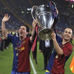 DP Messi dan Iniesta