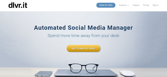 Dlvr.it - Social Media Auto Posting and Post Scheduling Tool