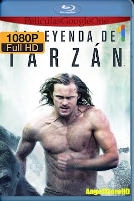 La Leyenda De Tarzan (2016) [1080p BRRip] [Latino-Inglés-Castellano] [GoogleDrive] – By AngelStoreHD