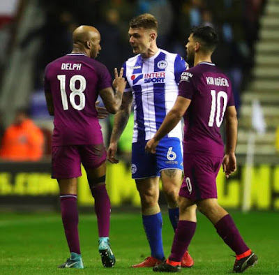 Manchester City and Wigan Athletic Fight - Judisessions