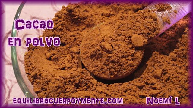 cacao, propiedades del cacao