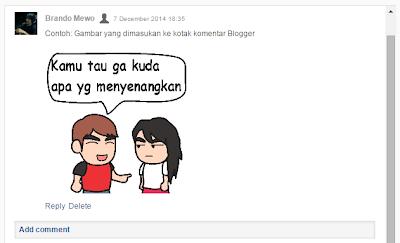 Cara Memasukan Gambar di Komentar Blog
