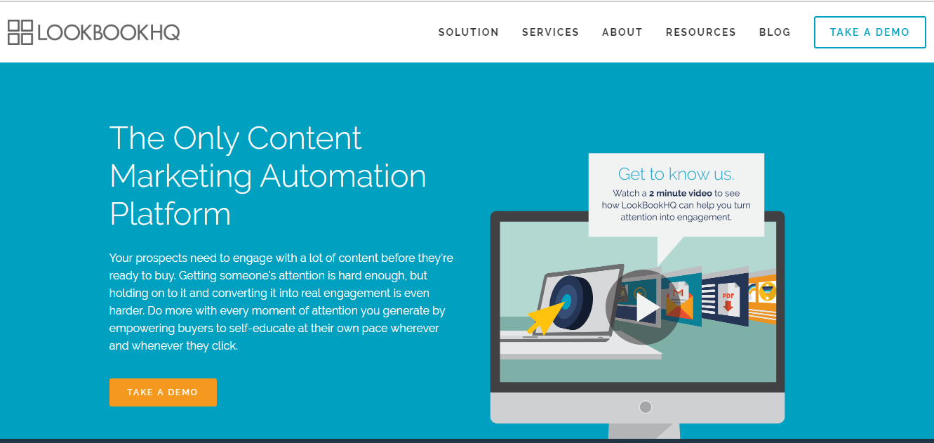 LookBookHQ Tool For Content Marketing Strategy