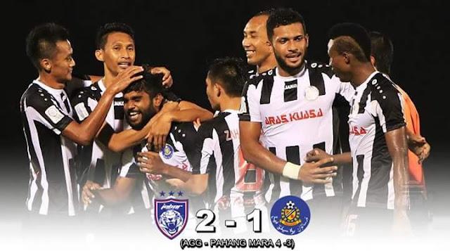 JDT Untuk Pertahankan Piala FA Malaysia Ranap Selepas Jaringan Sumareh