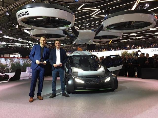 Airbus vehículo volador del futuro