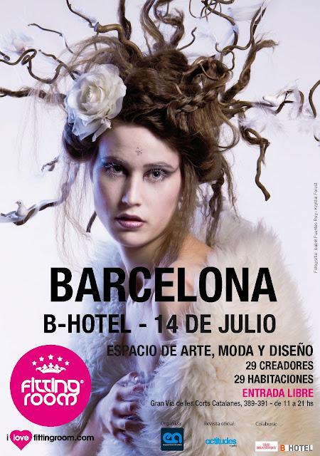 14 de julio… FITTING ROOM LLEGA A BARCELONA  ¡¡