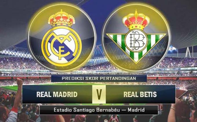 Prediksi Real Madrid vs Real Betis, 13 Maret 2017