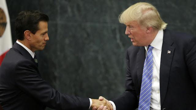 """Peña Nieto y Trump se reunirán """"en las próximas semanas"""""""