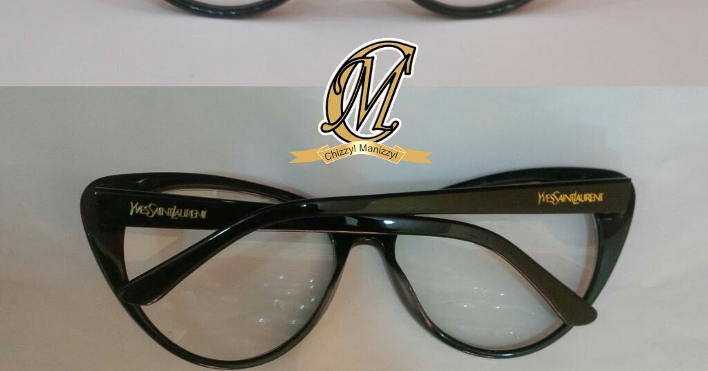 51ff42487dbe Welcome to Chizzyl Manizzyl Concepts   Photo  YSL cat glasses (new design)
