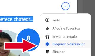 bloquear usuarios badoo desde el chat[2016]