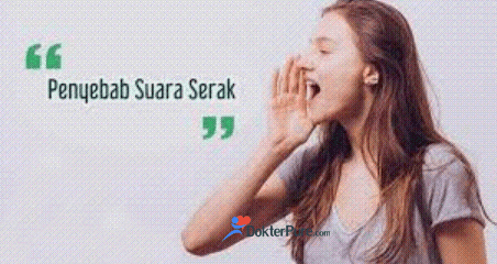 Penyebab Suara Hilang atau Serak akibat Radang Tenggorokan
