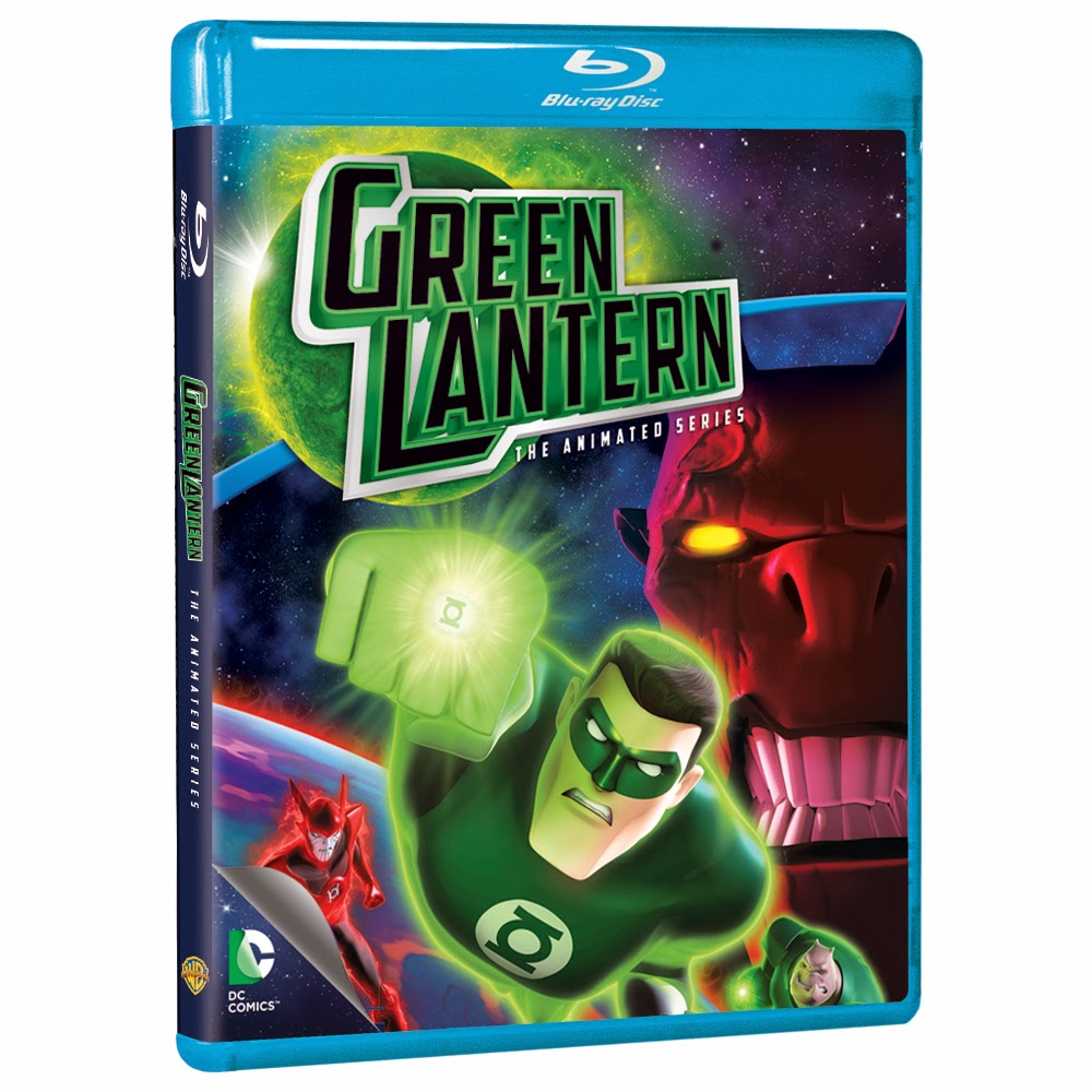 """Green Lantern: The Complete Animated Series"" Blu-ray available now"