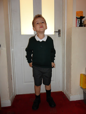 Big Boy on the First Day of School 2012