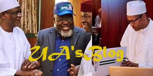 2019 Election: President Buhari's Campaign Caps Distributed By Ministers At FEC Meeting (Photos)