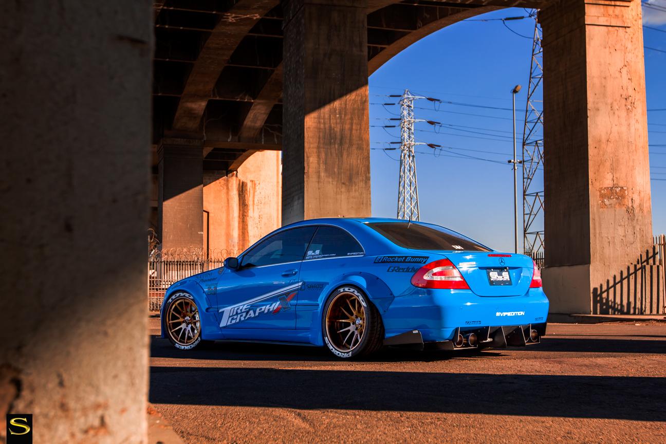 Mercedes-Benz CLK Rocket Bunny [Project RONIN] | BENZTUNING