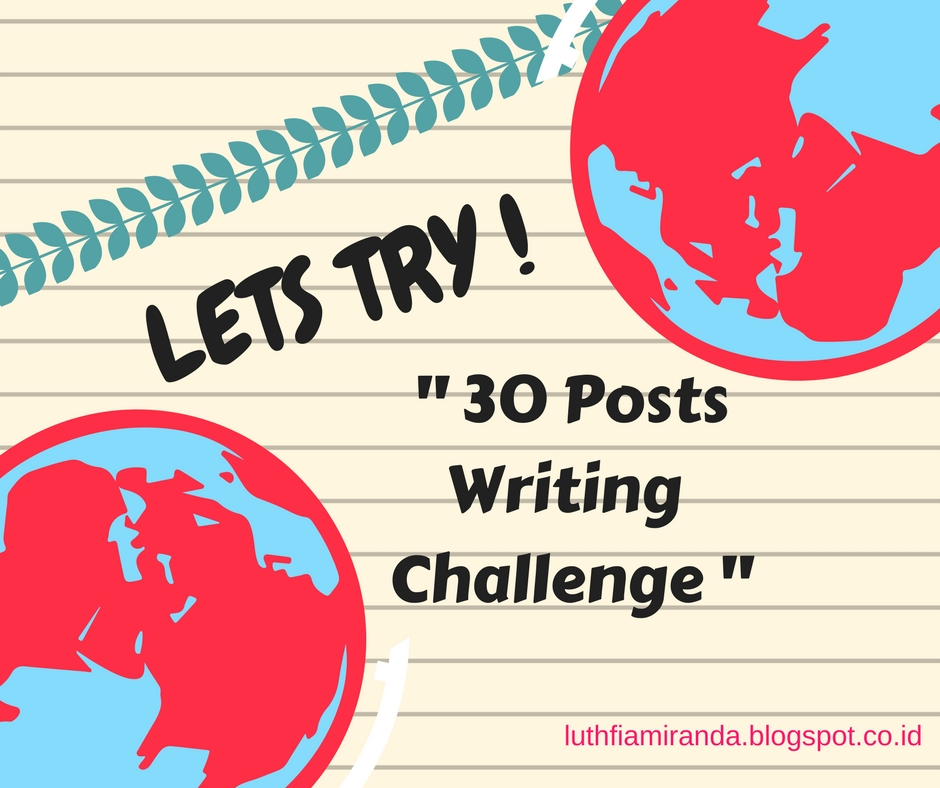 Premise Indicator Words: Lets Try : 30 Posts Writing Challenge