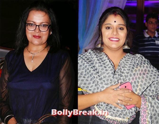 Sushmita Mukherjee and Kshiti Jog, Indian Tv Serial Mahabharat Heroines and Heroes Pics from Success Party