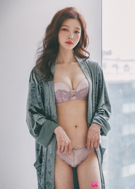 Kim Hee Jeong  Lingerie Set - very cute asian girl - girlcute4u.blogspot.com (1)