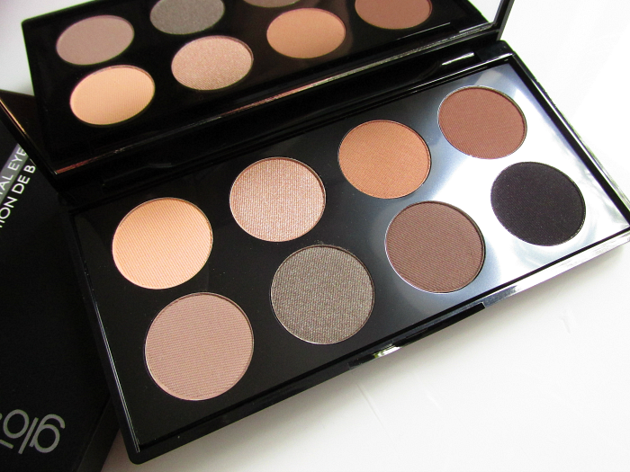 Review: glominerals - Elemental Eye Collection Palette Nuancen / Colours