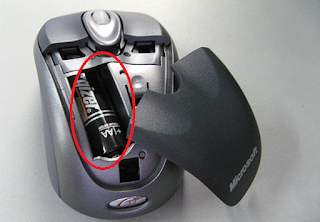 Wireless mouse is not working if battery is not insert properly in mouse - Helpstounderstand.com