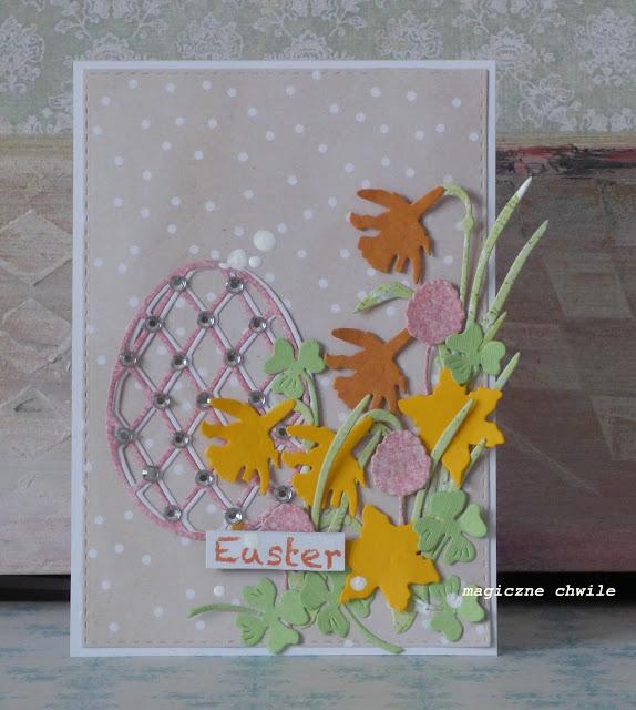Pierwsza kartka Wielkanocna..