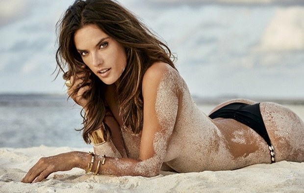 Alessandra Ambrosio bares it all for sexy GQ spread