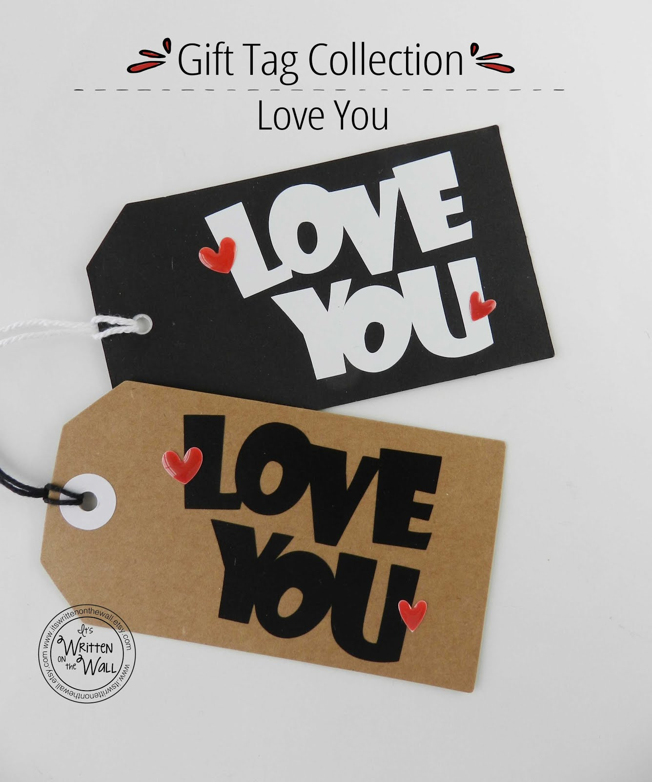 Special Handmade Tags for a Special Gift