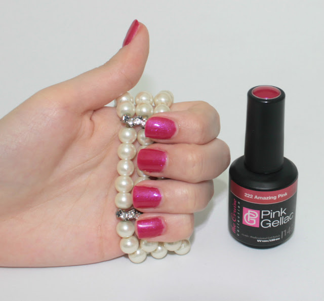 The Cruise Pink Gellac 222 Amazing Pink