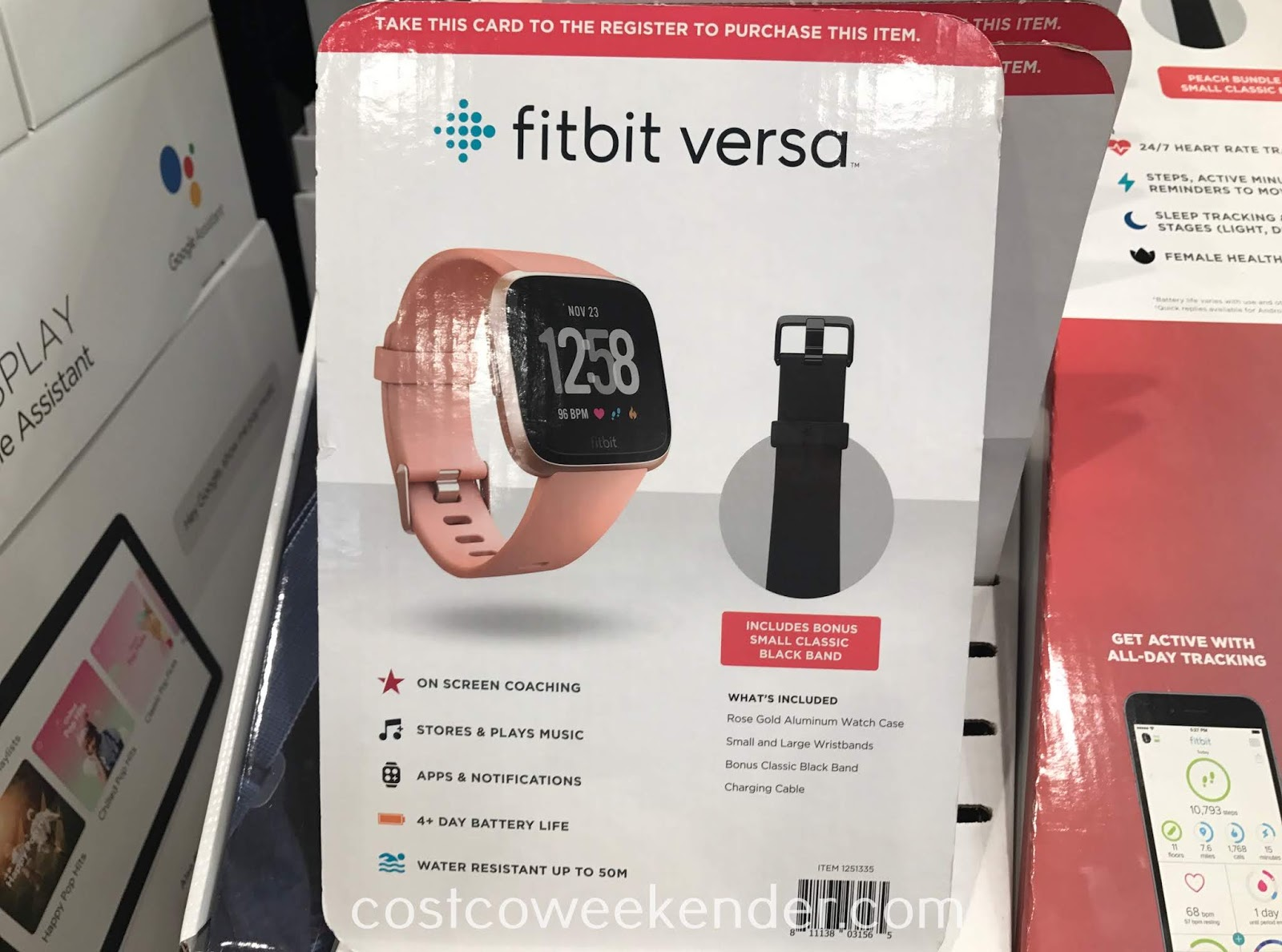 Costco 1251335 - Get the Fitbit Versa for a healthier lifestyle
