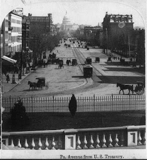 Pennsylvania Avenue from U.S. Treasury