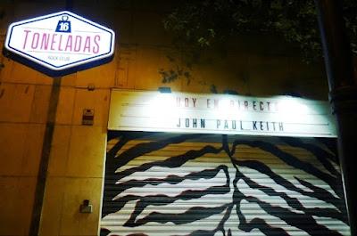 JOHN PAUL KEITH (crónica concierto Sala 16 Toneladas, Valencia 22-11-2016) 2