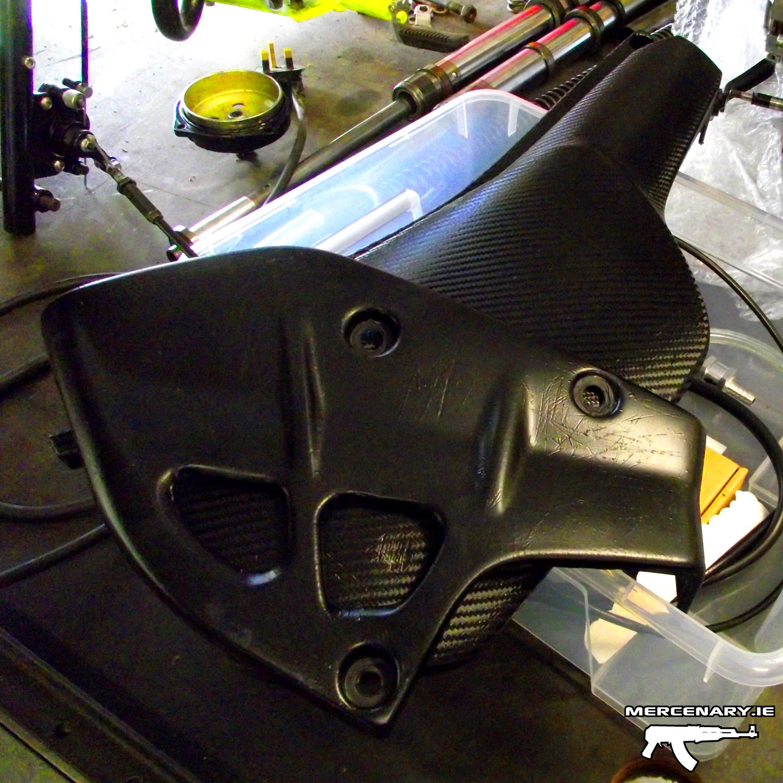 Mercenary Garage - Stealth KLR 250