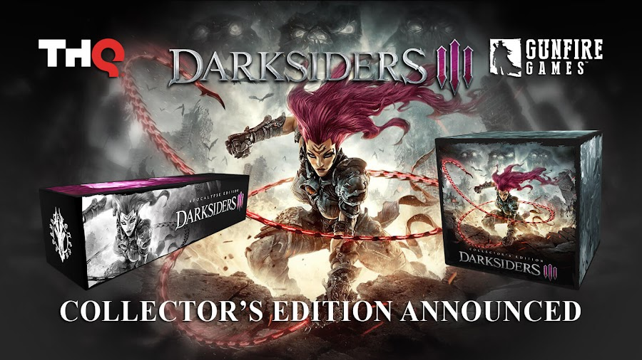 darksiders 3 collectors edition fury thq