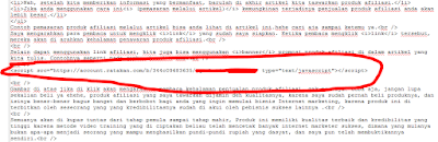 script html ratakan