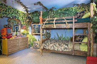 cuarto temático jungla