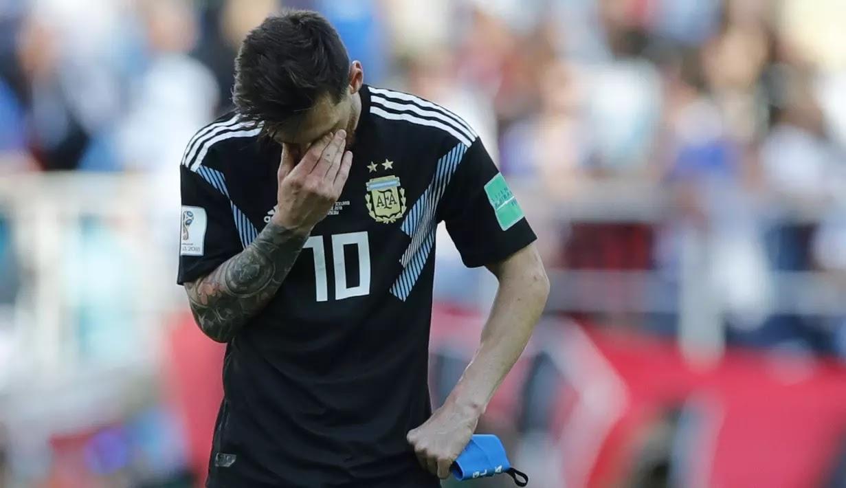 Messi Tak Perlu Kembali ke Timnas Argentina