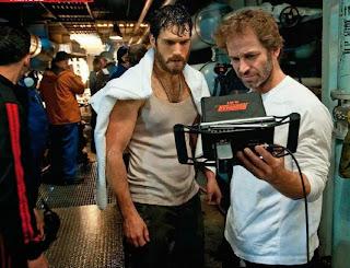 Henry Cavill and Zack Snyder