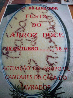 Festa do Arroz Doce na Casa do Lavrador