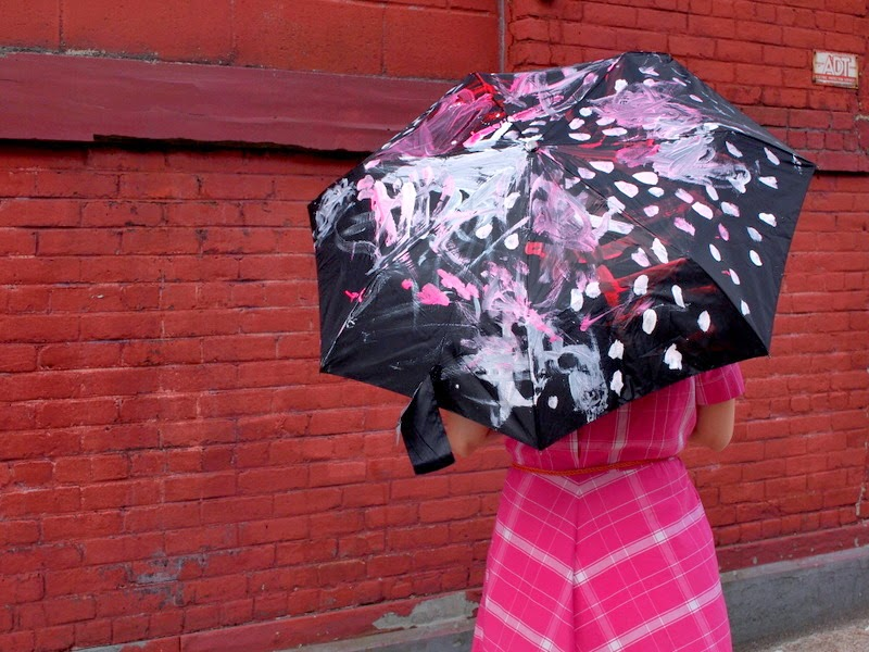 Kid Painted Umbrella- Easy Mother's Day gift idea