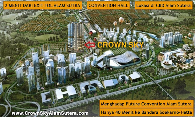 Crown Sky Alam Sutera Location