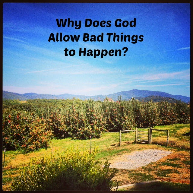 Bbad Things Happen: Married Filing Jointly (MFJ): Why Does God Allow Bad