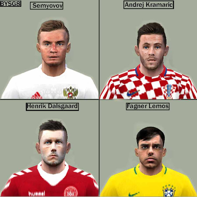 ff3f7dfe0559 PES 6 Face-Pack World Cup 2018 Unmades